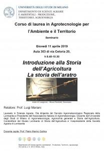 Seminario Mariani 11 aprile 2019
